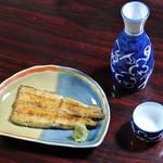 東屋 - 料理写真:白焼き