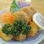 魚礁 - ホタテフライ 750円 2031.8