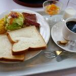 19926361 - 洋の朝食セット