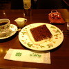 英国屋 - 料理写真:チョコレートシフォンケーキセット:880円