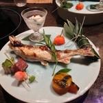 舞桜 - 鮎の塩焼き