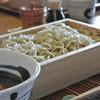 いし豆 - 料理写真:冷たいおそば「とりごぼう」