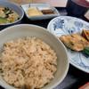 元気屋 - 料理写真:日替わり定食A(揚げの野菜詰め焼き)