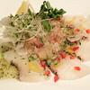 琴弾廻廊 暈亭 - 料理写真:鯛のカルパッチョ