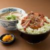 里のうどん - 料理写真:人気セットメニュー「うどんとバラ丼セット」
