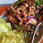 19977712 - 豚ひき肉のハーブサラダ