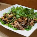ソンポーン - 2013.7 ラープガイ特別バージョン(鶏レバーと砂肝入りのイサーン風鶏挽き肉サラダ)