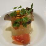 舞桜 - うにと松茸の前菜