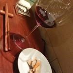カデンツァーレ - 赤ワインにも合まする。