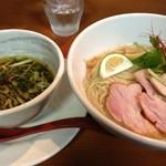 維新 - 鶏節の細つけ麺 改