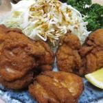 鳥やき串英 - 地鶏から揚げ 600円