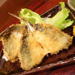 岩亀 - アジフライ450円