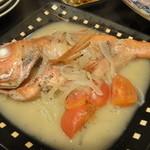 宵 - 金目鯛のアクアパッツァ 1,100円