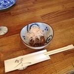 風味亭 - 料理写真:風味亭の突出し(13.07)