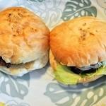 立石バーガー - 本日のパン