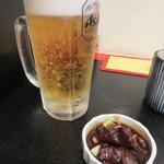 まつもとの来来憲 - 生ビール(中) 520円