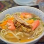 わのわカフェ - トゥクパ、ネパールの麺料理