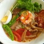 港北パーキングエリア(下り線)レストラン - 冷麺