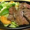 ビートきよしの鉄板屋 - 料理写真:牛ハラミステーキ