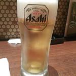 串かつ専門店 串+串 - 生ビール(中)