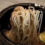 福島 もう利 - 冷やし蕎麦