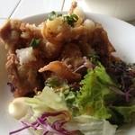 青い鳥のレストラン - ランチの唐揚げ定食