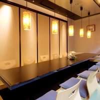 6名様~12名様までご利用いただける堀炬燵個室です。