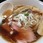 麺処 晴 - 煮干香る醤油ラーメン