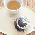 トラヤカフェ - 鉄観音茶。