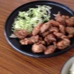 鯨食堂 - 料理写真:鯨竜田揚げ定食  600円