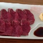鯨食堂 - 料理写真:鯨刺身  400円