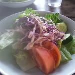 レストラン ザ・マベリック - 一人前がコノ量です!野菜がたくさんです♪