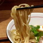 麺と心 7 - カマス煮干しの冷やし醤油ラーメン 麺