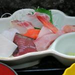 割烹 桂 - 定食の刺身