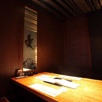 ご接待や大切な食事会に完全個室のお部屋もご利用しております。