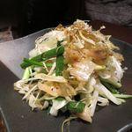 鳥どり - 葱とザーサイのしゃきしゃきサラダ