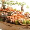 びわこの千松 - 料理写真:これが噂の【元祖舟盛り料理】