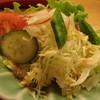 寿司政 - 料理写真:なぜかサラダ