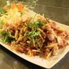 メイサイストアー - 料理写真:ネームクルック(850円)生ソーセージ揚米ハーブサラダ