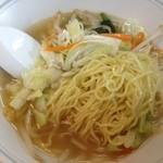 20167692 - 半タンメンの麺