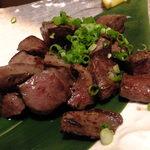 菜蔵 - さつま知覧鶏(ちらんどり)の鉄板焼き:819円
