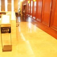 喫茶フェリーチェ - 熊本総合病院に入ったら左奥(八代市役所側)に入口があります。