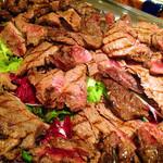 ラ・スコリエーラ - マグロのホホ肉のタリアータ