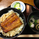 浜松 - うなぎ丼「並」