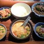 Sawadee Lemongrass Grill - 日替わりランチのセット 本来は890円