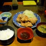 串エ門 - から揚げ定食750円