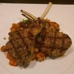 トロケ - 仔羊肉のグリエ