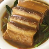 豚バラ肉のやわらか煮 (当店人気NO.1)
