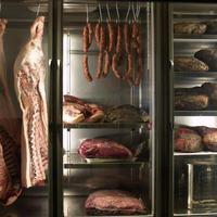自家製の熟成肉(ドライエイジング)