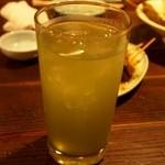 海ぼうず本店 - 静岡といえば、やっぱり緑茶割り